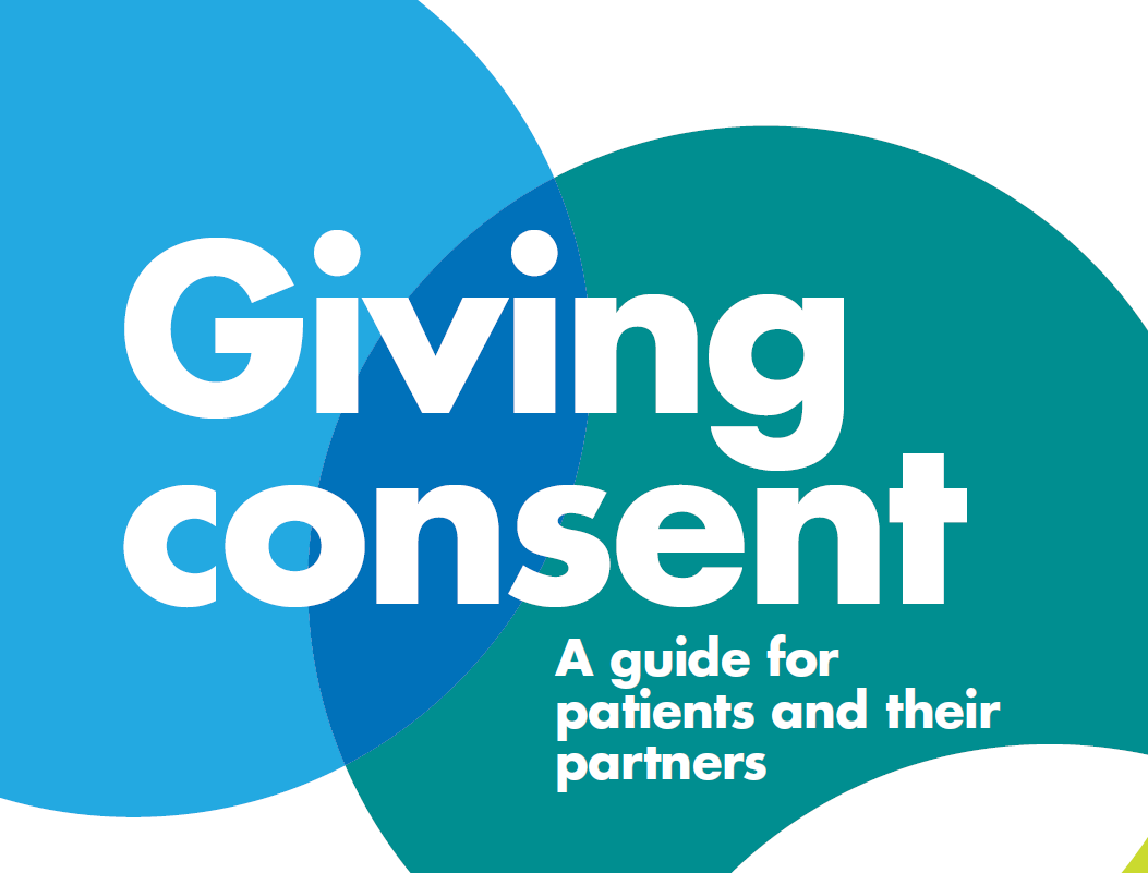 Giving Consent guide front cover