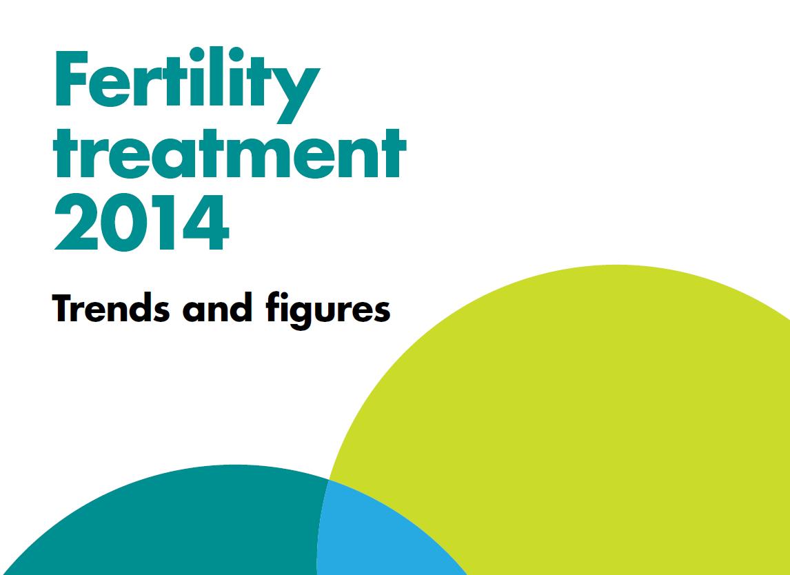 Fertility treatment 2014 leaflet front cover